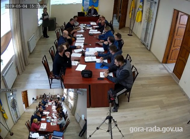 Пряме включення третього засідання чергової 71 сесії Гірської сільської ради