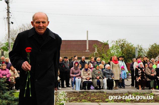 Село Гора, 9 травня 2019 року. Відзначення 74 річниці перемоги над нацизмом у Другій світовій війні.