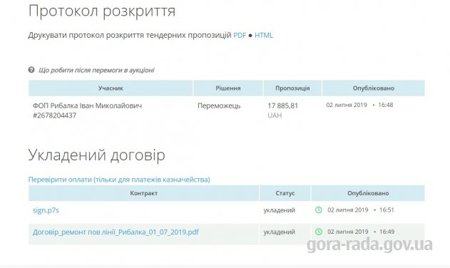 Про ремонт повітряної лінії КТП-1269 вул. Яблунева